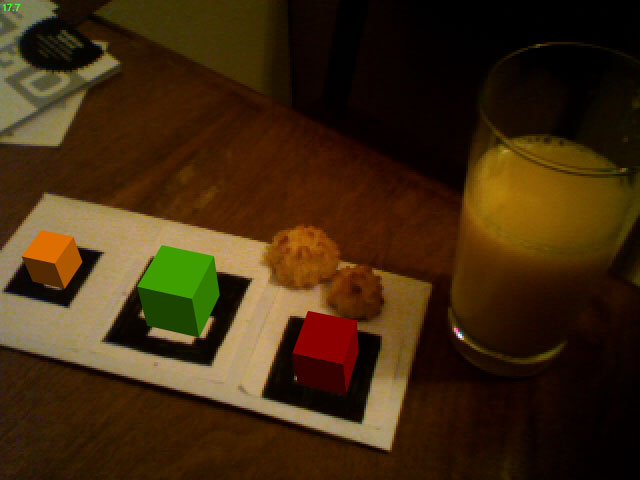macaroons and cubes, yum.